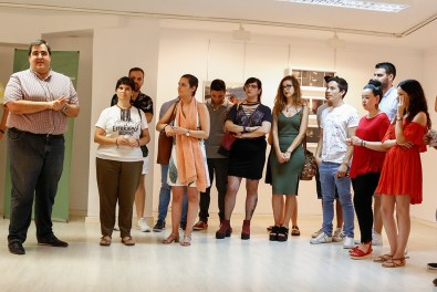 Ramón Soto inaugura la exposición