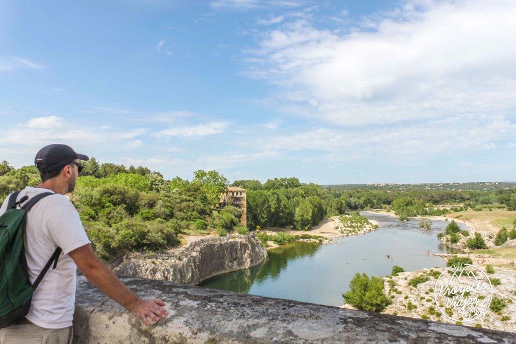 Pont Du Gard View