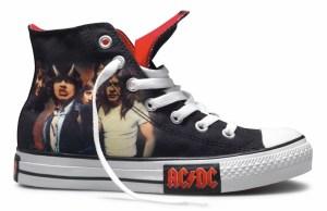 1 AC/DC, Chuck Taylor All Star, Converse, Metallica