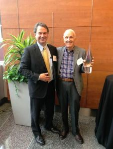 "7th National Conference on Housing Mobility: PRRAC Executive Director Philip Tegeler honoring Alexander Polikoff, ""Father of Mobility,"" lead counsel on Gautreaux, honored for blazing the trail of mobility as a means of integrating cities based on race and income."