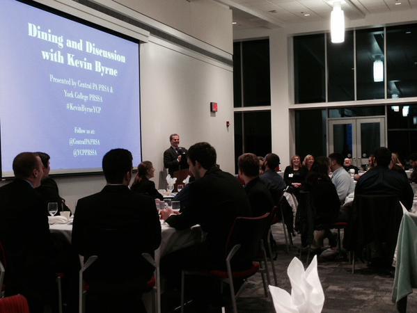Kevin Byrne shares insights