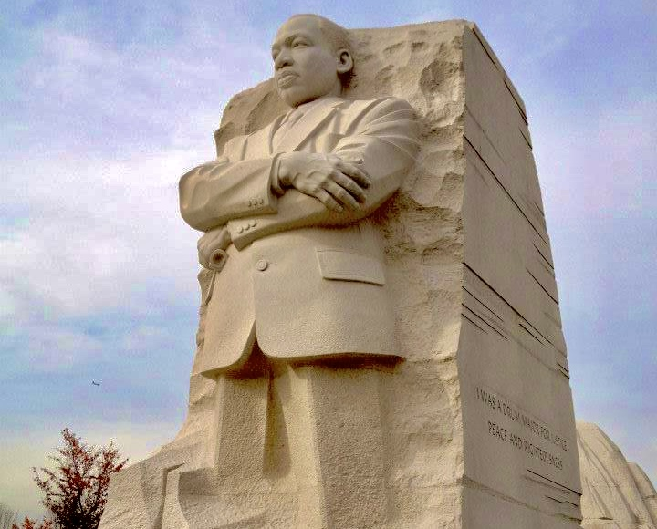 Photo of Martin Luther King Jr. National Monument sculpture.