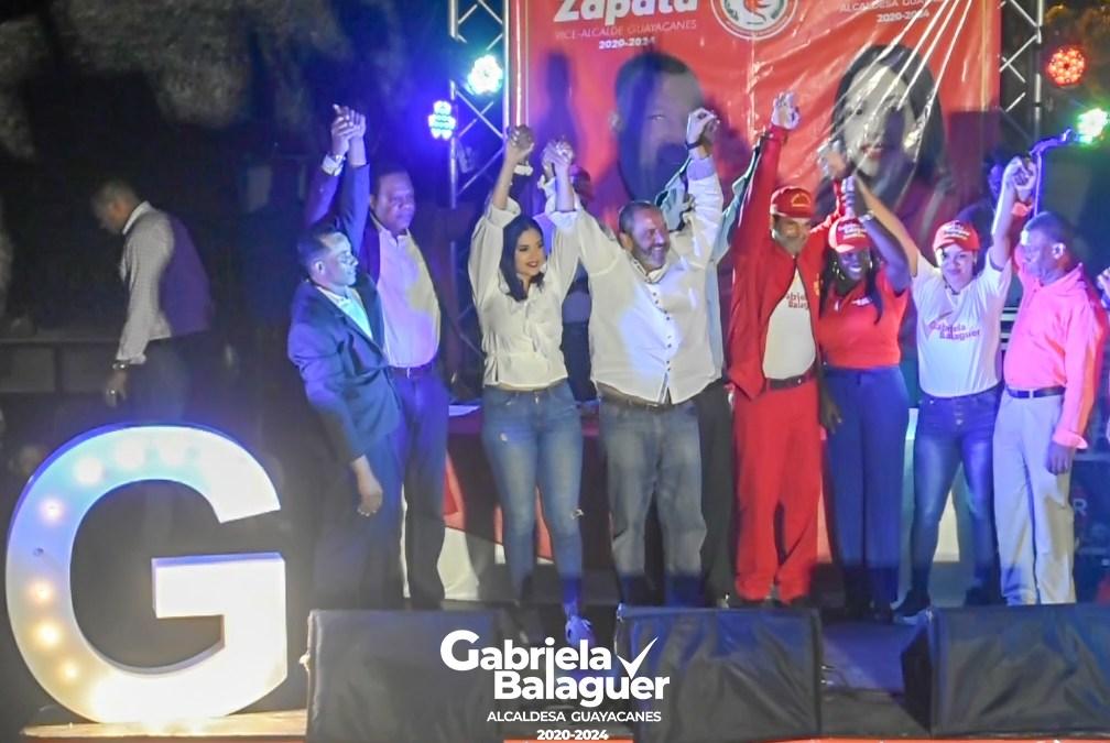 PRSC presenta a Gabriela Balaguer como candidata a Alcaldesa por Guayacanes