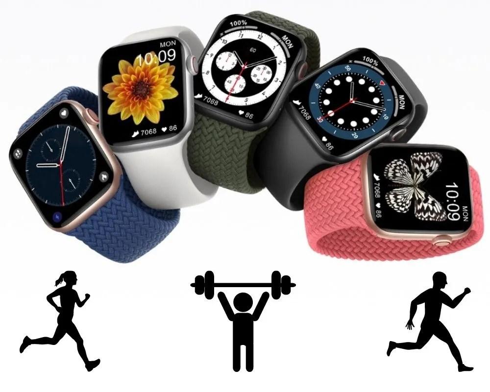 Smartwatch DT100 Modos Deportivos
