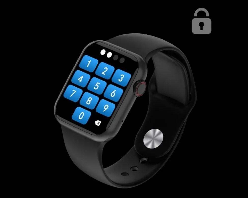 Smartwatch DT100 Protección encriptada