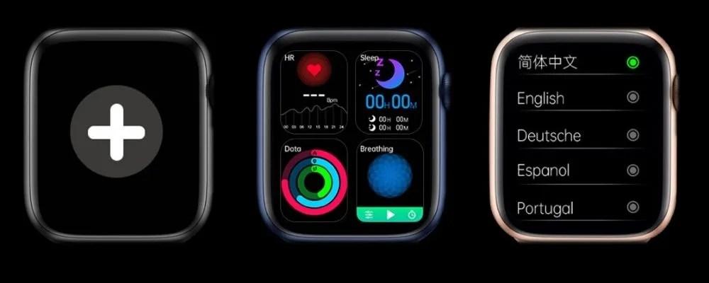 Widgets del Smartwatch DT100