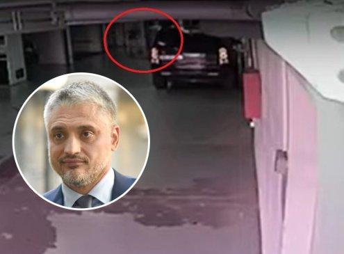 EKSKLUZIVNO: Snimak napada Čede Jovanovića na čoveka u garaži! (VIDEO)