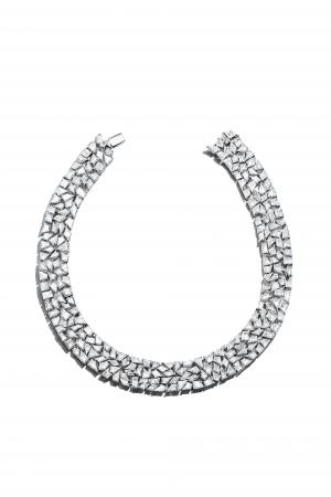 「ティファニー ブルーブック  コレクション」ネックレス (プラチナ、 ダイヤモンド)