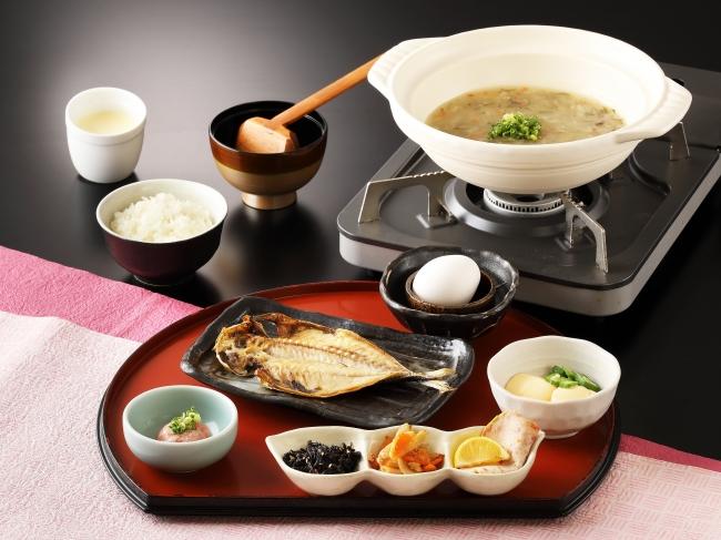 食べる和風野菜スープが自慢!ご飯がススム新朝食メニュー