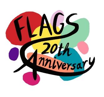 Flags20周年ロゴマーク