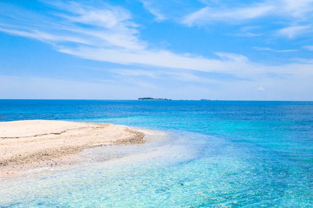 海外1位、フィリピン・セブ島のビーチ。
