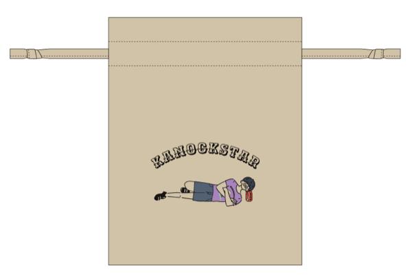 巾着ポーチ 1,200円(税込)