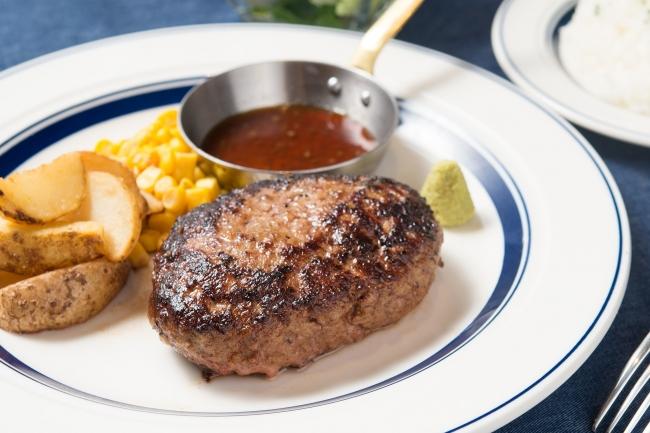 「熟成牛ハンバーグ」: 1,280円(+税)
