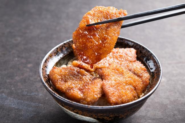 京都勝牛の『元祖:牛たれカツ丼』
