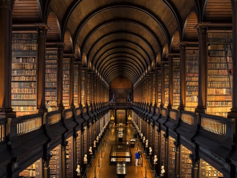ダブリン大学トリニティカレッジ図書館・ロングルーム