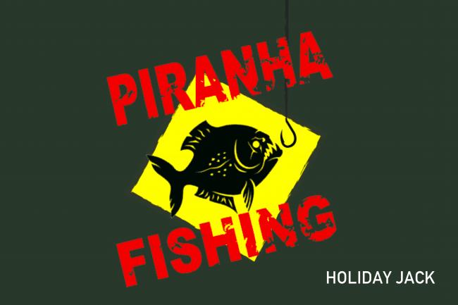 恐怖のピラニア釣り