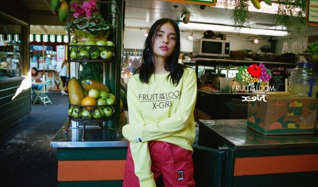 X-girl × Fruit of the Loom
