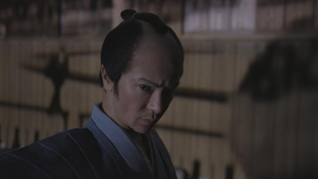 侍姿の武田真治さん