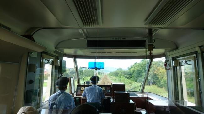 381系パノラマやくもグリーン車