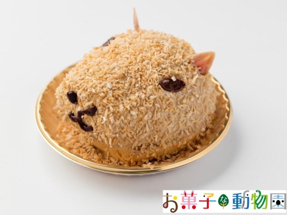 カピバラケーキ