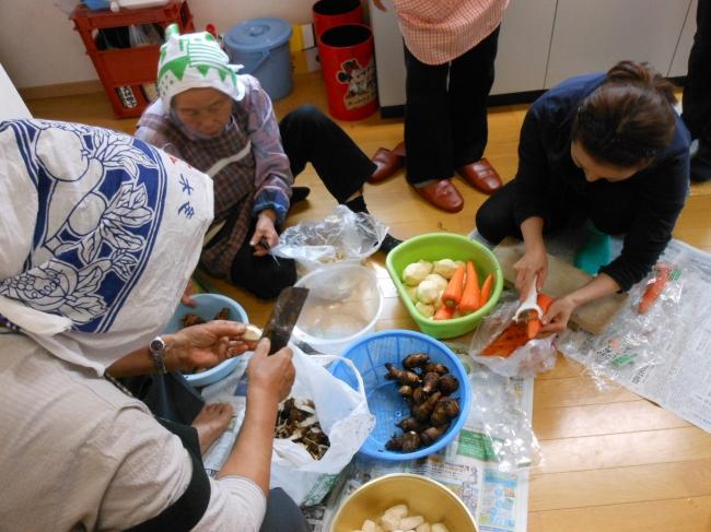郷土料理体験