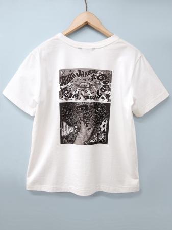 Tシャツ(レディース)¥13,000(税抜)バックプリント