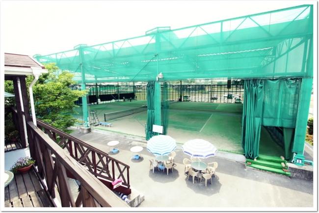 テニスガーデン広陵は2018年9月にリニューアルが完了。