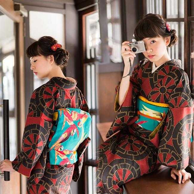京都きもの町の「はじめてのきもの」セット