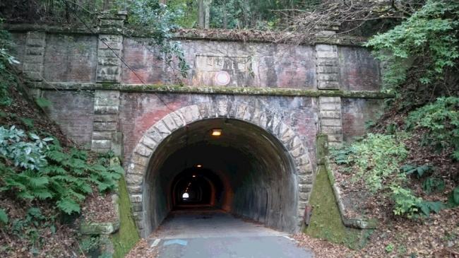 旧賤ヶ岳トンネル(提供:花田欣也氏)