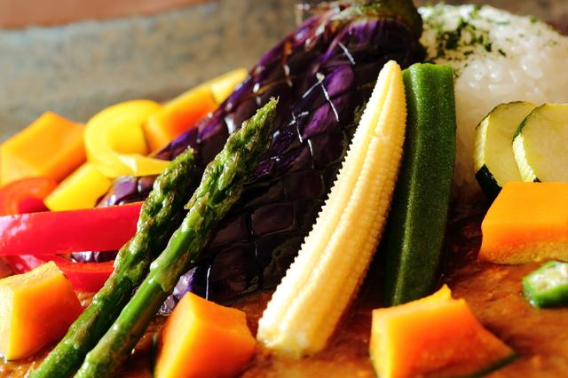 ひと手間くわえてタップリ夏野菜のヘルシーカレー!