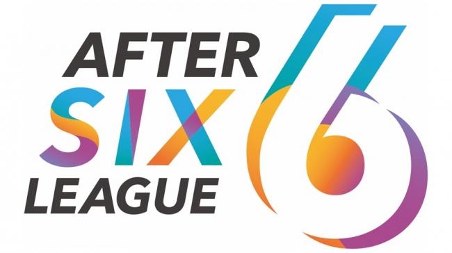 社会人eスポーツリーグ「AFTER 6 LEAGUE™」 ロゴ