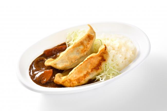 餃子カレーライス