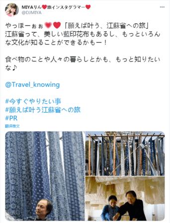 (ブロガーのツイート)