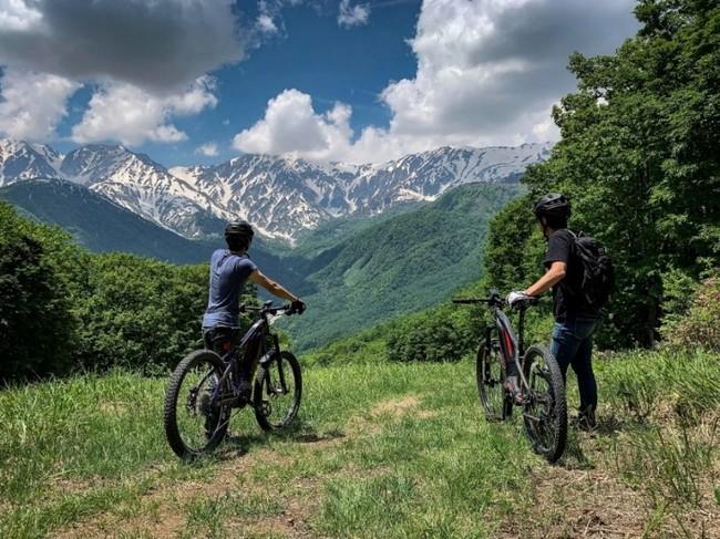 白馬岩岳での乗車イメージ