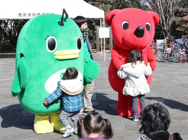 習志野市公式キャラクターのナラシド♪やチーバくんも遊びに来ます!