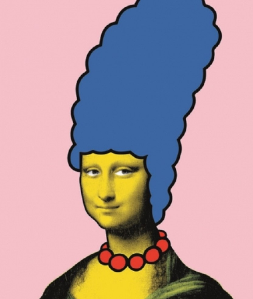 """""""Mona Simpson"""" Made by Banksy Gallery"""