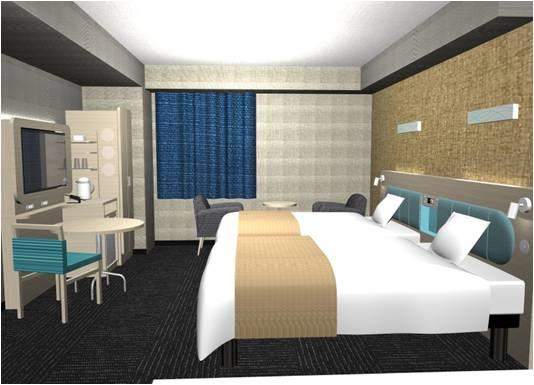 コンフォートホテル高知 2ベッドルーム ※イメージ