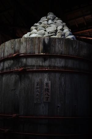 愛知県・八丁味噌の石積み