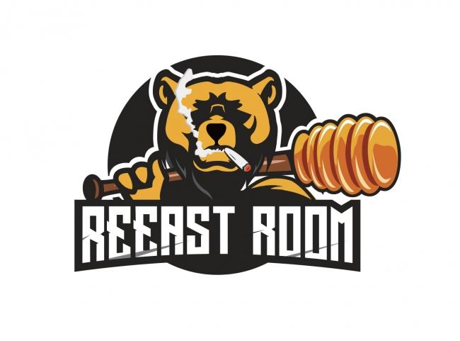 REEAST ROOM(リーストルーム)ロゴ:Reease of Beast(野獣を解放しろ)の造語