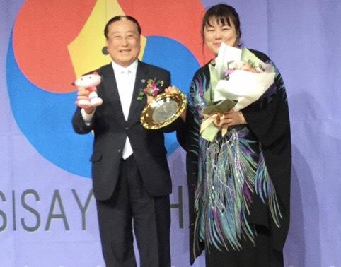 ギム・ハクス元国連事務次長とSIZUKU
