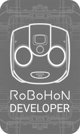 ロボホン 認定開発パートナーロゴ