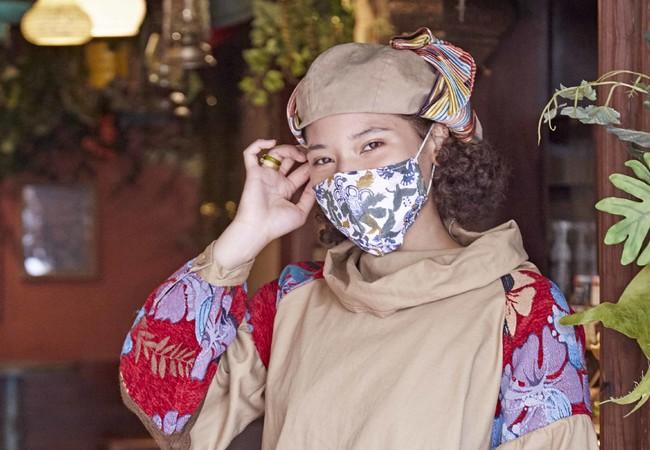 インドの伝統技法、 「ブロックプリント」のマスク