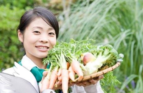 宮崎の旬を伝える野菜ソムリエ、大角恭代さん