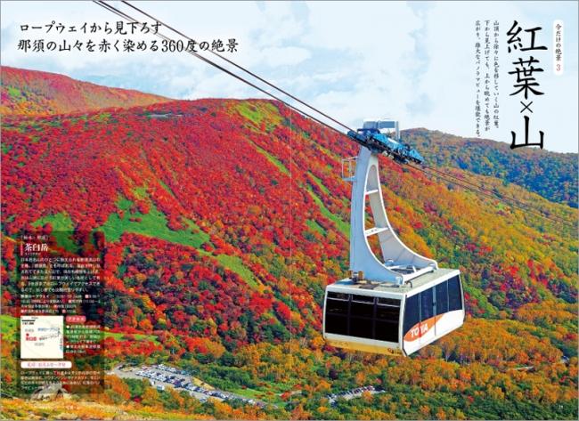 「紅葉×山」ページ例