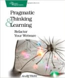 book cover pragmatic thinking and learning