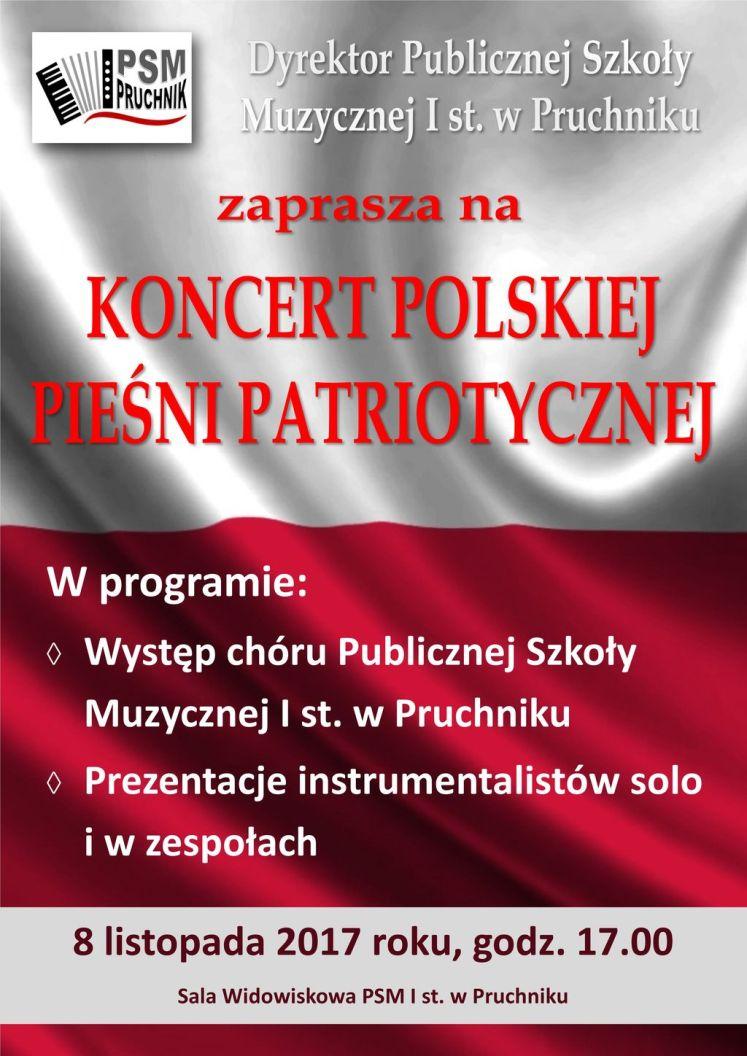 2017-11-08 na WWW Koncert Polskiej Pieśni Patriotycznej