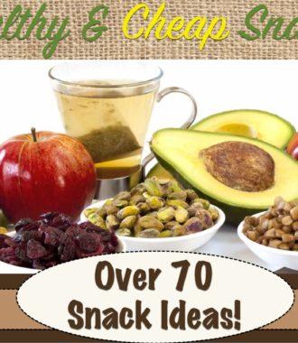 Healthy & Cheap Snacks
