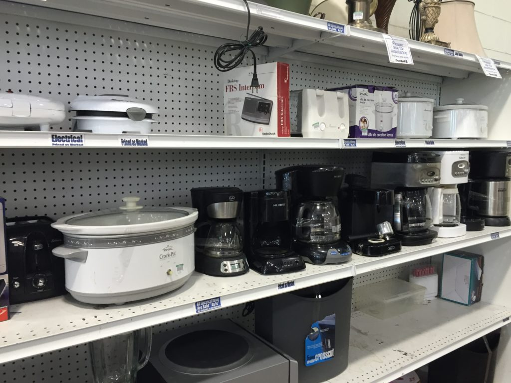 thrift store appliances