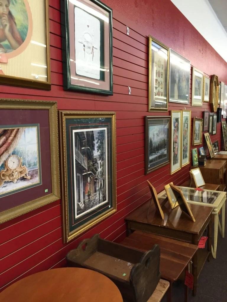thrift store frames