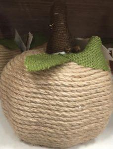rope pumpkin